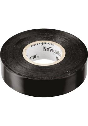 Изолента ПВХ/19х20/NAVIGATOR черн.