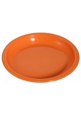 Тарелка пласт. плоская D180 мм /С152/
