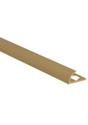 Раскладка наруж. для плитки 8 мм /кремовая/ 2,5м