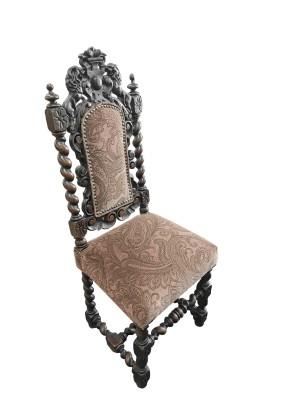 Стул антикварный Франция /стиль Генриха II начало19 века/массив дуба