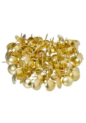 Гвозди мебельные золото 100шт