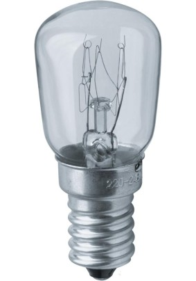 Лампа д/холодильника и вытяжек 15Вт Е14