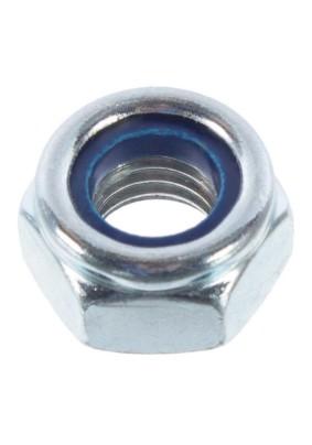 Гайка с нейлон. кольцом оцинк. М 8 DIN985
