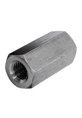 Гайка соединительная оцинк. М10 DIN6334