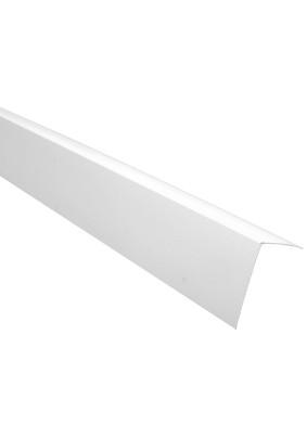 Уголок ПВХ белый/30х30/2,7м