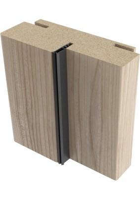 Коробка сендвич экошпон, телеск. с уплотнителем Капучино Мелинга 2070х74х33/Профило порте