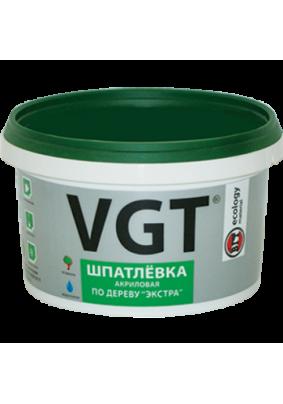 Шпатлевка по дереву Экстра ВГТ лиственница/0.3 кг/