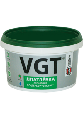 Шпатлевка по дереву Экстра ВГТ береза/0.3 кг/
