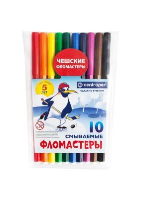 """Фломастеры """"Пингвины""""/10цв./002716/"""