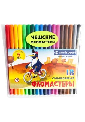 """Фломастеры """"Пингвины""""/18цв./002727/"""