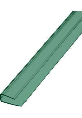 П-профиль торцевой Зеленый/ 6х2100мм