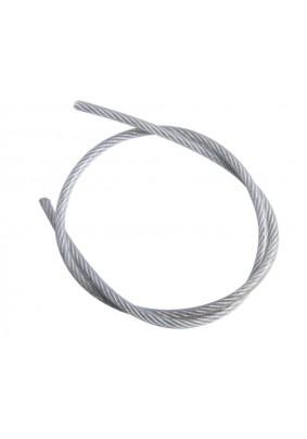 Трос стальной в оплетке ПВХ 6мм/8мм DIN3055