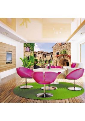 Декоративное панно DECOCODE Тоскана 41-0202-YE 4,00 м х 2,80 м