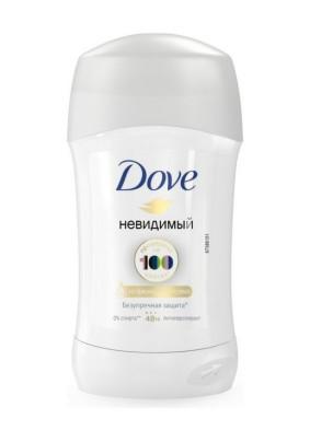 Дезодорант стик Dove Невидимая защита для черного и белого 40-50мл
