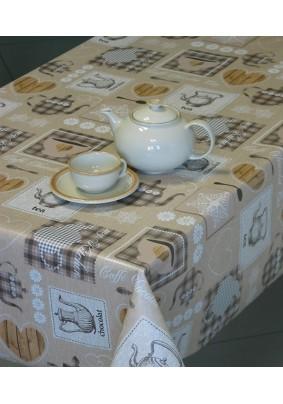 Клеенка Sale & Pepe 140 см арт. 587/5 Чайный/4891