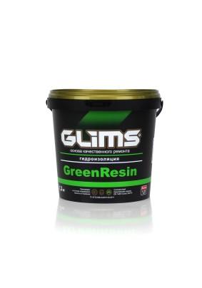 Герметик гидроизол. Глимс GreenRezin/1.3 кг/