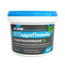 Гидро Пломба Глимс/0.8кг/ремонтная смесь