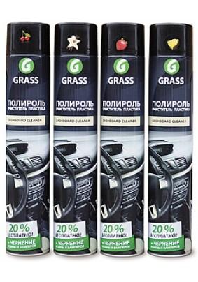 """Полироль-очиститель пластика GRASS """"Dashboard Cleaner"""" 750 мл (Ваниль) 120107-4"""
