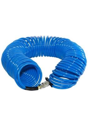 Шланг спиральный воздушный 15м 15бар 6х10мм