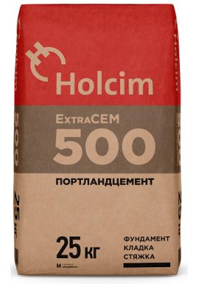 Цемент М-500/ЦЕМ II/Холсим/25кг