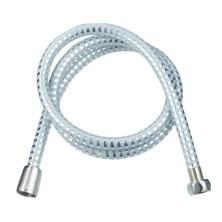 Шланг для душа 150 см, 1/2*1/2 конус, d14мм, белое серебро, Melodia Tubo Elastica MS-10