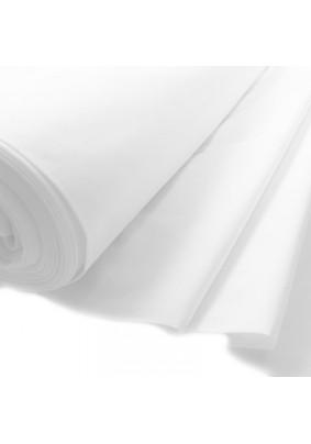 Ткань бязь белая /ш.=1,5м/ ГОСТ/ пл.140г/кв.м/ГМ