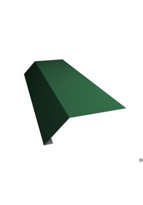 Карнизная планка 95х50х2000мм/ RAL 6005/ Зеленый