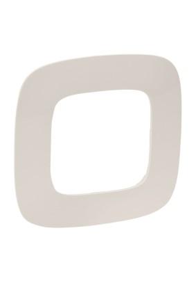 Рамка 1 Valena ALLURE/сл. кость/Leg 754311