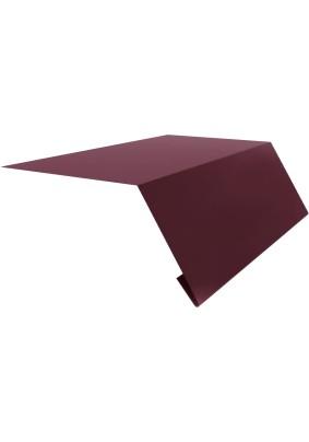 Карнизная планка 95х50х2000мм/ RAL 3005/ Красное вино