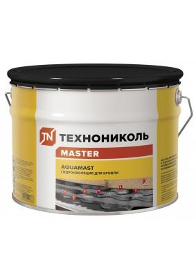 Мастика битумно-резиновая AquaMast/ Для кровли/10л/10кг