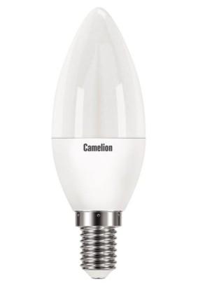 Лампа светодиод.8.0Вт Camelion/4500К/Е14/С35*