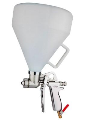 Краскопульт верхний бачок текстурный DECOR  G5000 (149л/мин, 3.5бар,  4.5 л, 4/6/8мм) Fubag