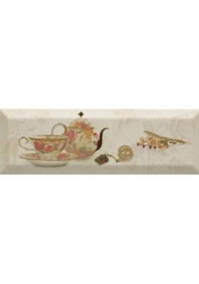 Декор Bonjour Tea Marfil 10x30