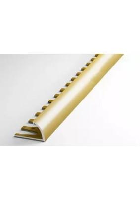 Профиль окантовочный наружний ПК 14.2700.02л (золото люкс) гнущийся