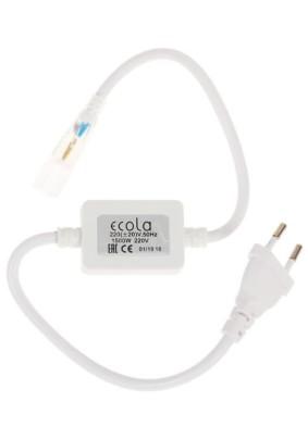 Сетевой провод для LED-ленты/max-1500Вт/SMD5050/IP68/Ecola