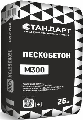 """Пескобетон М300 """"Стандарт62""""/25кг/"""