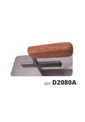 Кельма венецианская 20х8,2 см с деревянной ручкой D2080A
