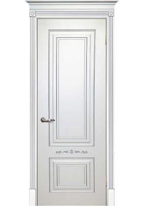 Подпятник  RAL9003 Белый патина серебро 10х70х200/Текона