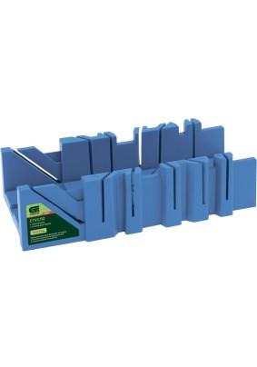 Стусло пластиковое 300х90мм, 6 углов для запила /Сибртех/22576/