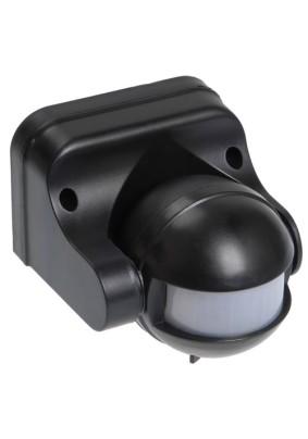 Детектор движения 1100Вт/IEK ДД 009 180гр.12м IP44 черный
