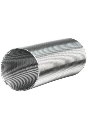 Канал стальной Компакт D120 2м