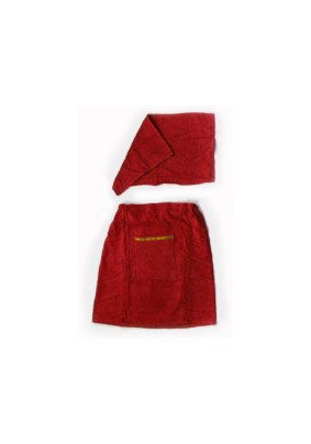 Набор мужской махр: килт+полотенце/Т013/