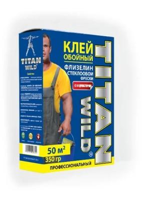 Клей обойный Titan Wild флиз/стеклообои проф./350 г/