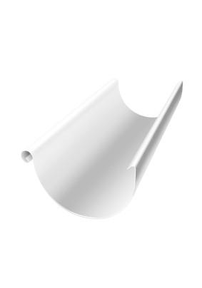 Желоб 2м d=125мм RAL9003 Белый Металл