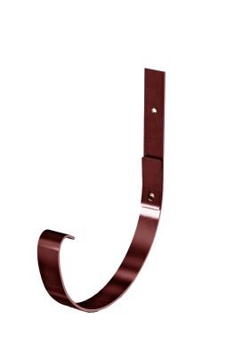 Крепление желоба карнизное d=125мм RAL8017 Коричневый Металл