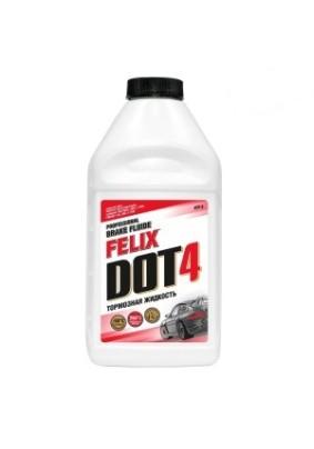 Тормозная жидкость DOT4 Felix 910мл