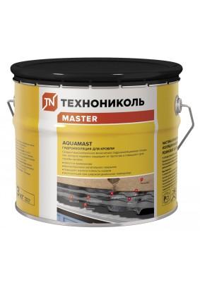 Мастика битумно-резиновая AquaMast/ Для кровли/ 3л/ 3кг