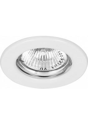 Светильник  точечный DL10 MR16 G5.3 белый,15109