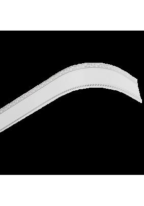 Бленда/планка Есенин серебро белый 70мм