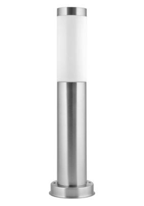Светильник Camelion TS-104 (Стальной) столб 45 см TECHNO улично-садовый 230В 60Ватт